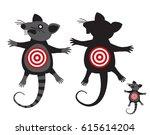 Rat Goal. Concept Anti Rodent...
