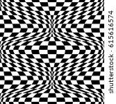 checkered twist pattern  3 in... | Shutterstock . vector #615616574