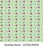 flower pattern | Shutterstock . vector #615619649