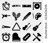 instrument icons set. set of 16 ...   Shutterstock .eps vector #615626246