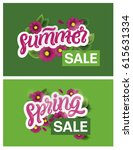 """spring sale"" and ""summer sale"" ... 