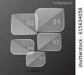 info graphic design template.... | Shutterstock .eps vector #615634058