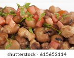 ful medames or simply foul  is... | Shutterstock . vector #615653114