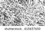 abstract halftone doted... | Shutterstock .eps vector #615657650
