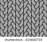 braided pigtails fiber seamless ... | Shutterstock .eps vector #615660710