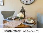 lucky living room  | Shutterstock . vector #615679874