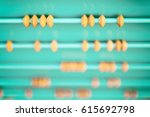 Wooden Abacus On The Playgroun...