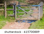 English Country Gate Near The...