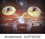 audio cassettes for recorder...   Shutterstock . vector #615710120