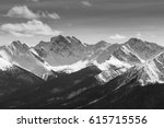 rocky mountains on a spring day | Shutterstock . vector #615715556