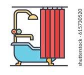 bathroom icon symbol  bath ...