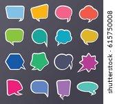 balloon word design vector | Shutterstock .eps vector #615750008