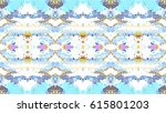 mosaic colorful horizontal... | Shutterstock . vector #615801203