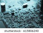 electronics computer... | Shutterstock . vector #615806240