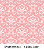 floral pattern. wallpaper... | Shutterstock .eps vector #615816884