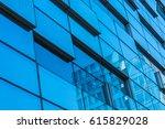 detail glass building... | Shutterstock . vector #615829028