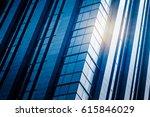 detail glass building background | Shutterstock . vector #615846029