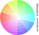 palette of pastel colors