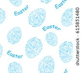 white and blue seamless pattern ...   Shutterstock . vector #615851480