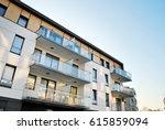 modern  luxury apartment...   Shutterstock . vector #615859094