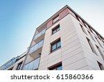 modern  luxury apartment... | Shutterstock . vector #615860366
