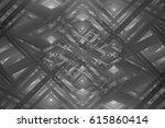 abstract illustration grey... | Shutterstock . vector #615860414