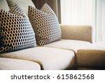 contemporary interior of living ... | Shutterstock . vector #615862568