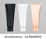 cream or lotion tubes vector... | Shutterstock .eps vector #615868850