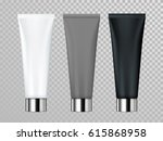 cream or lotion cosmetic tube... | Shutterstock .eps vector #615868958