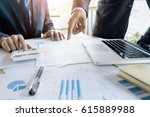 administrator business man... | Shutterstock . vector #615889988