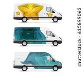 set of branding design... | Shutterstock .eps vector #615899063