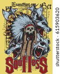 soulless | Shutterstock .eps vector #615903620