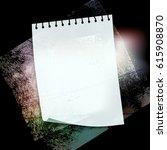 splattered grungy background ... | Shutterstock . vector #615908870