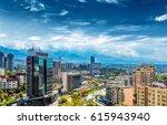 almaty skyline | Shutterstock . vector #615943940