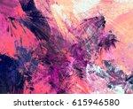cold multicolor beautiful... | Shutterstock . vector #615946580