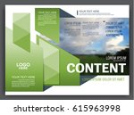 presentation layout design... | Shutterstock .eps vector #615963998