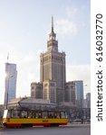 warsaw city | Shutterstock . vector #616032770