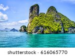 phuket island in thailand sea | Shutterstock . vector #616065770