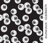 human eyeballs seamless pattern ...