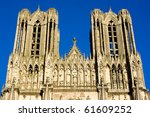 Cathedral Notre Dame  Reims ...