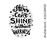 stars cant shine without... | Shutterstock .eps vector #616118420