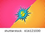 versus duel fighting comic... | Shutterstock .eps vector #616121030