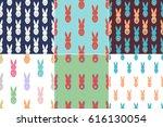 Set Of 6 Seamless Pattern...