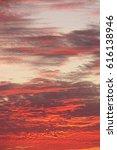 red  crimson  orange  scarlet... | Shutterstock . vector #616138946