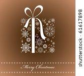 christmas background....   Shutterstock .eps vector #61617898