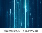 abstract digital science... | Shutterstock . vector #616199750