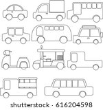 car icons | Shutterstock .eps vector #616204598