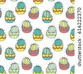 vector seamless pattern with... | Shutterstock .eps vector #616222370