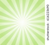 abstract light green rays... | Shutterstock .eps vector #616223690