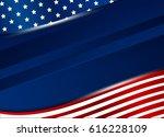 usa background design vector... | Shutterstock .eps vector #616228109